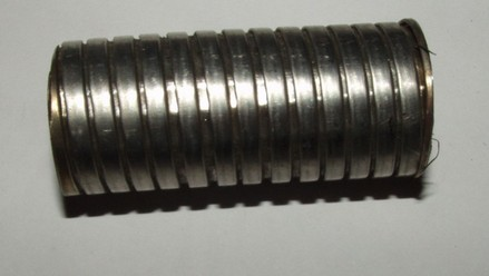 Edelstahlwickelschlauch / Coiled tubing 20mm